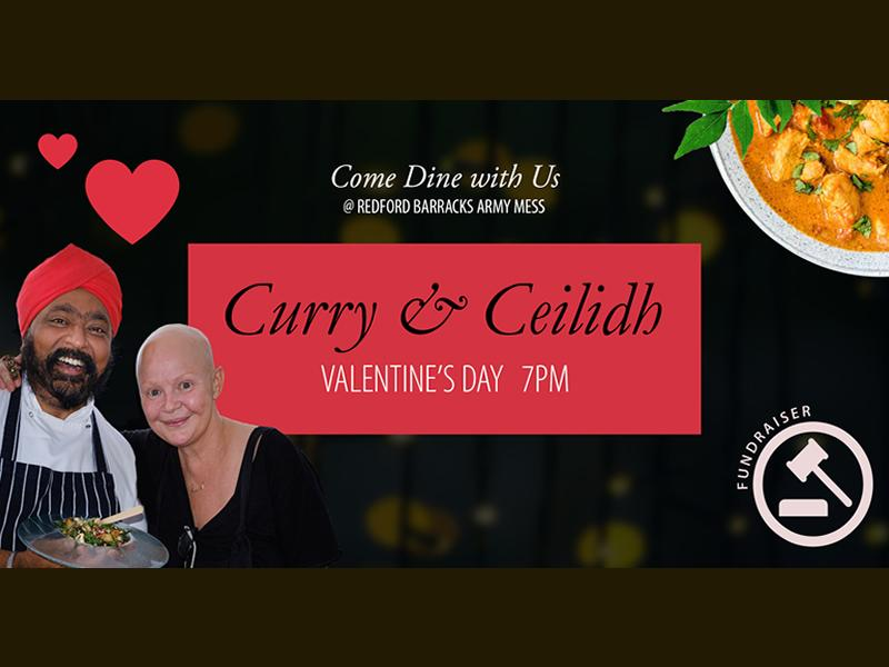 Valentine's Curry & Ceilidh