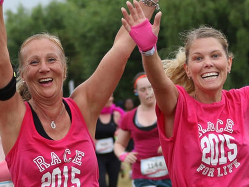 Cancer Research UK Race for Life Glasgow Green