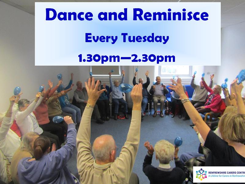 Renfrewshire Carers Centre: Dance And Reminisce