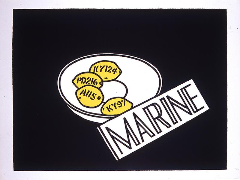 Marine: Ian Hamilton Finlay
