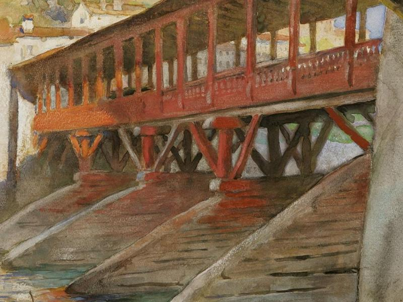 Exhibition Tour: Charles H. Mackie: Colour and Light