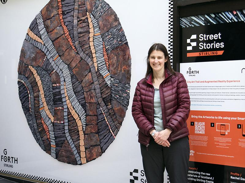 Empty shops in Stirling transformed into animated works of art
