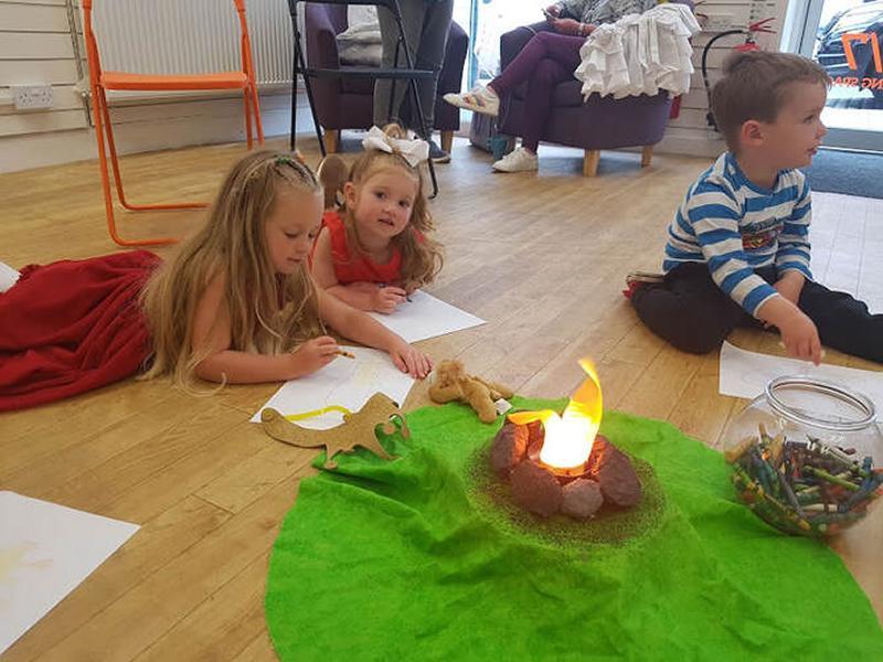 Campfire Storytelling Club
