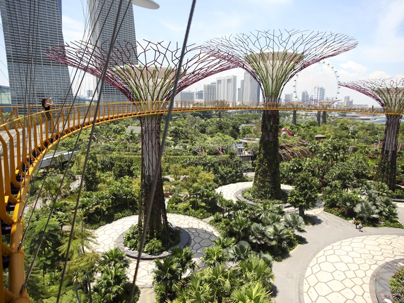 Gardens By The Bay in Singapore top green travel wish list