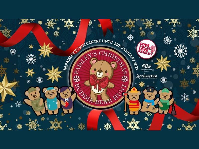 Paisley's Christmas Buddie Bear Hunt