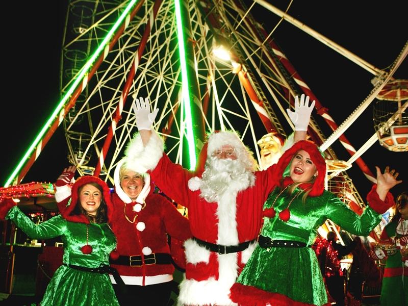 Festive family fun at Santas Magical Wonderland
