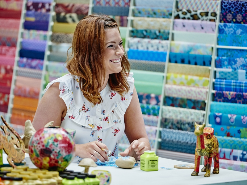 The Creative Craft Show featuring The Scottish Quilting Show