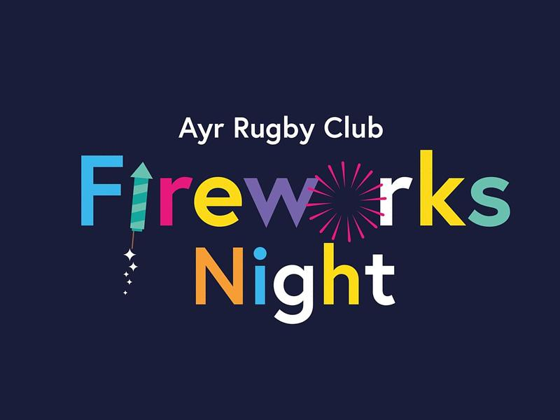 Ayr Rugby Club Fireworks Night
