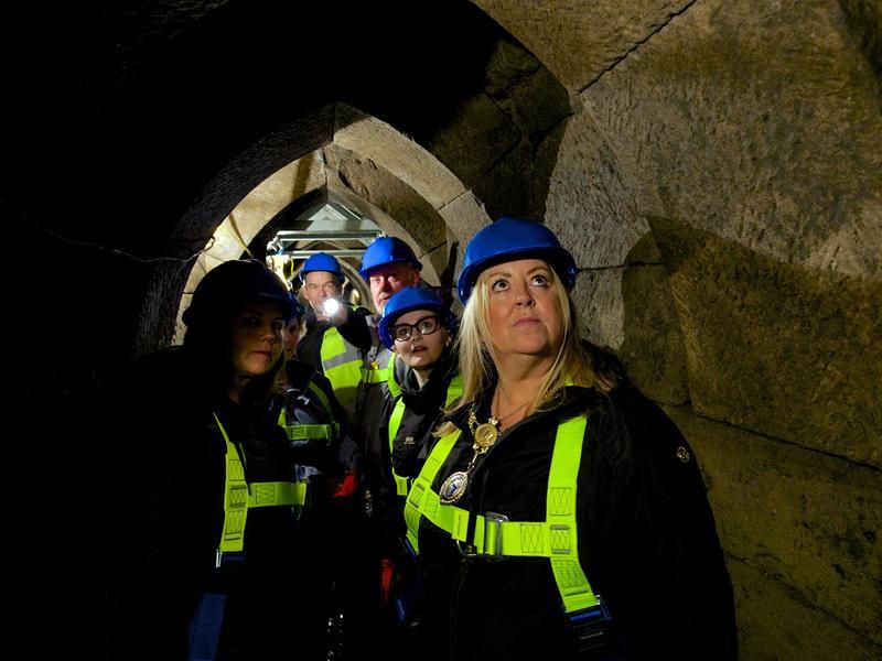 Renfrewshire history fans get the chance to go underground at Doors Open Days