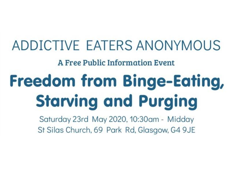 Addictive Eaters Anonymous - POSTPONED
