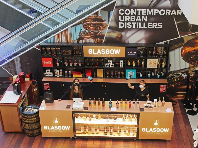 Glasgow Distillery get into the festive spirit with opening of Glasgow City Centre pop up shop