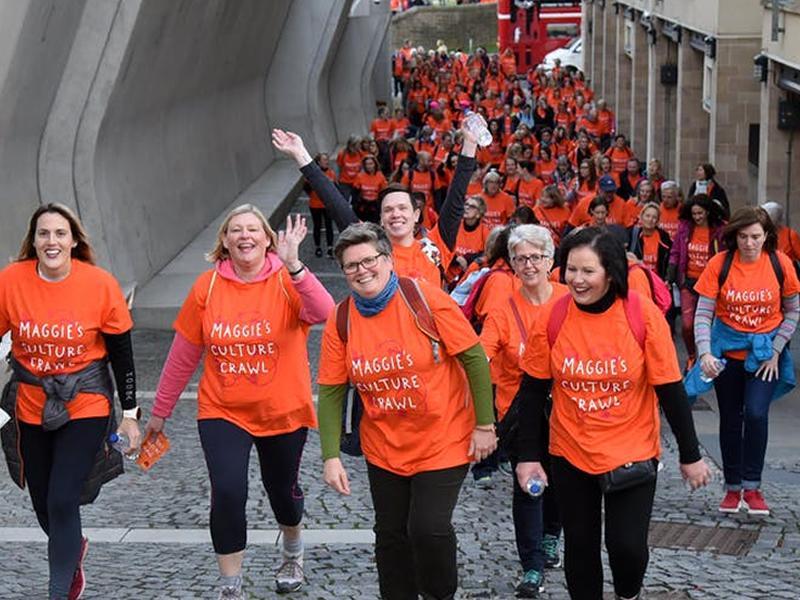 Maggie's Culture Crawl Edinburgh