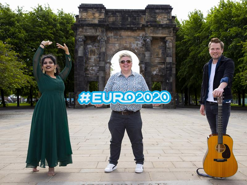 Cultural programme for UEFA EURO 2020 Glasgow Fan Zone unveiled