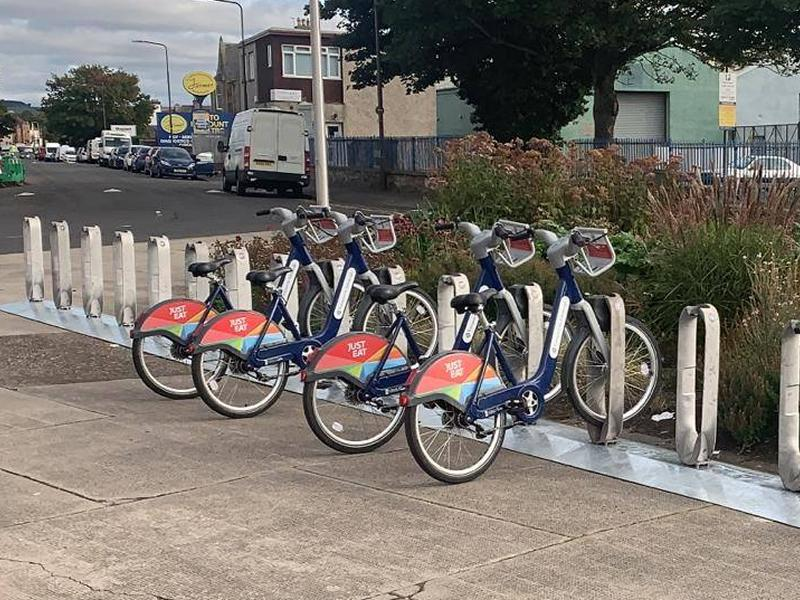 New cycle hire facilities open in Musselburgh