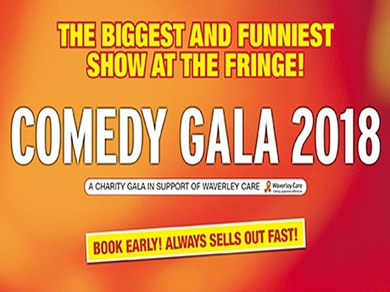 Edinburgh Comedy Gala 2018: One week until the biggest comedy event of the Fringe returns.