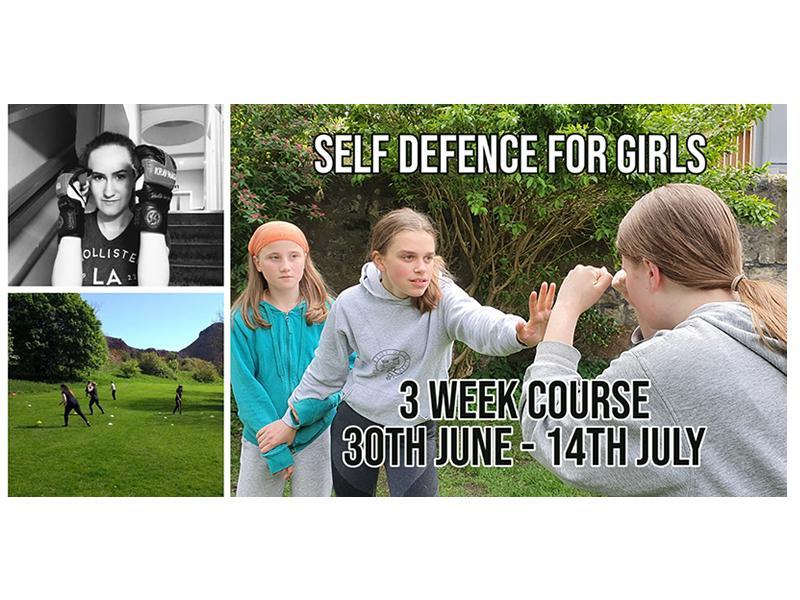 Introduction to self-defence for Girls aged 14-17  -  Krav Maga