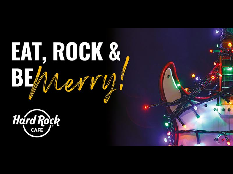 Eat, Rock and Be Merry at Hard Rock Cafe Glasgow and Edinburgh this Christmas