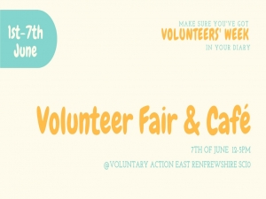 Volunteer Fair & Pop-Up Café