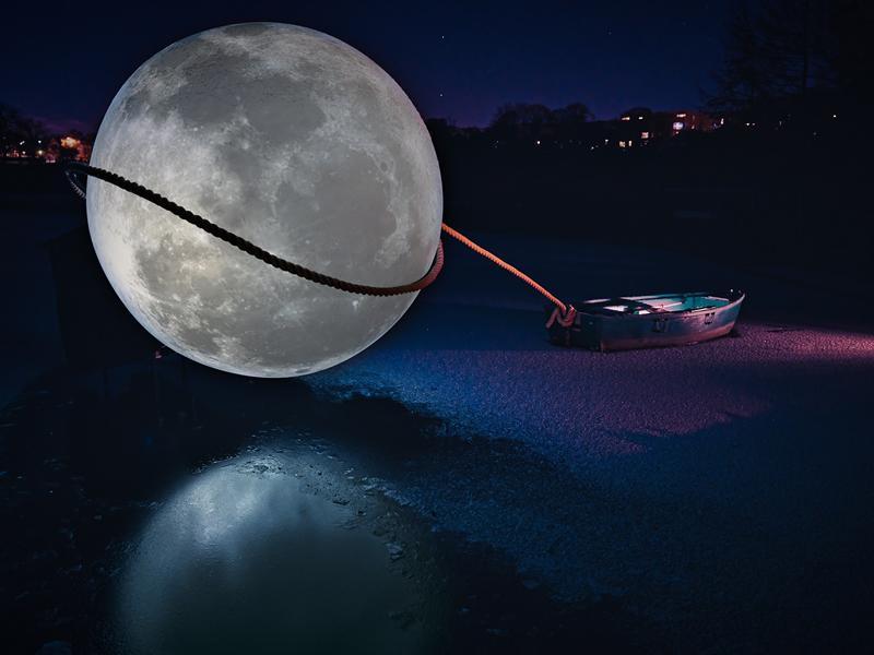 Ursula Lassos the Moon