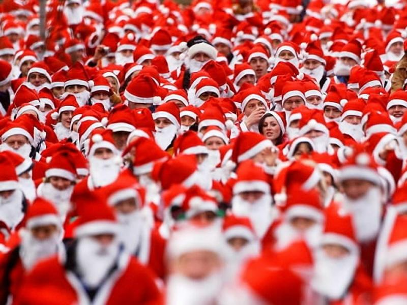 St Andrews Hospice Santa Dash, Reindeer Run & Santa Cycle