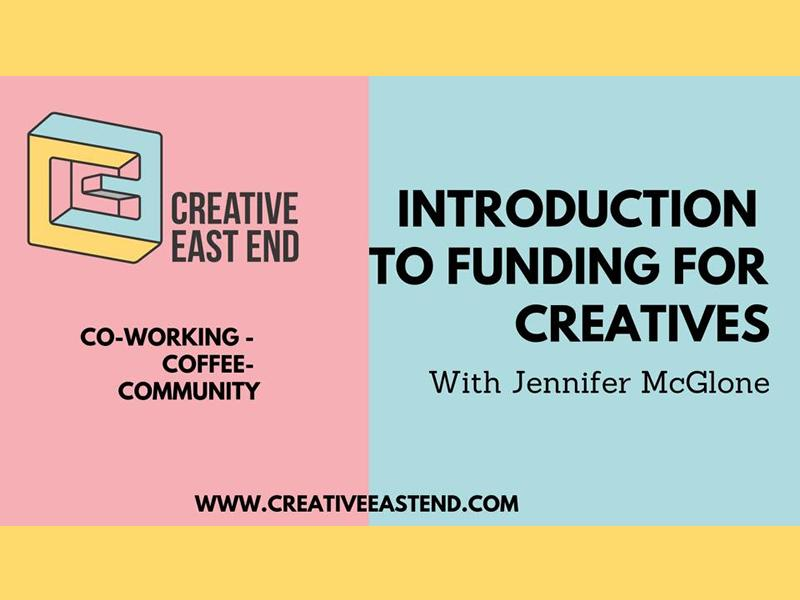 Introduction to Funding for Creatives
