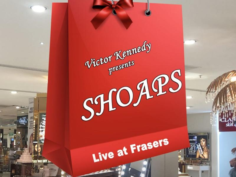 Shoaps Live at Frasers Glasgow