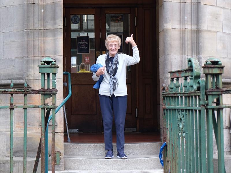 Water way to celebrate baths centenary, says oldest swimmer Meg!