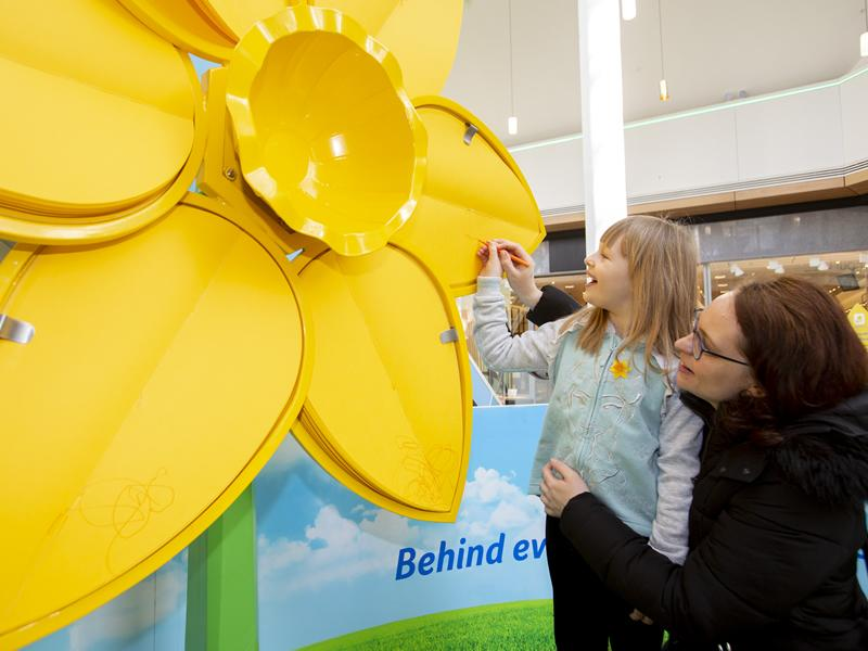 Marie Curie's Great Big Daffodil