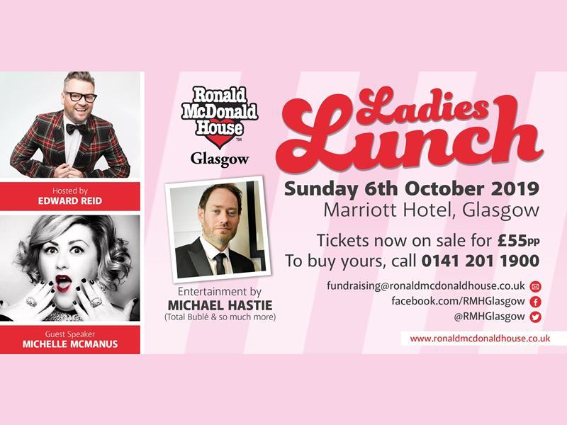 Ronald McDonald House Glasgow Ladies Lunch