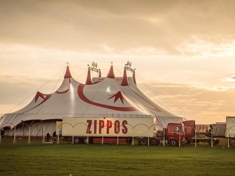 Zippos Circus at Kilmarnock's Scott Ellis Playing Fields