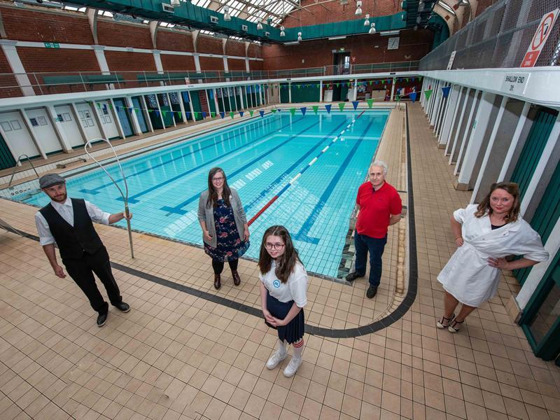 Exhibition celebrates centenary of Renfrew Victory Baths