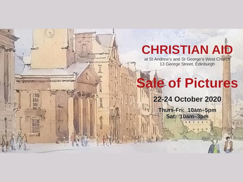 Sale of Pictures for Christian Aid