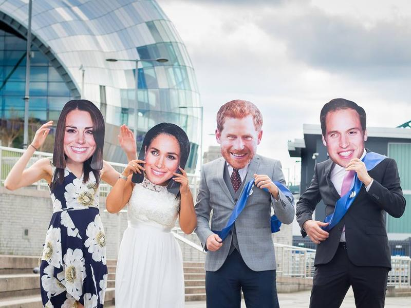 Harry and Meghan's 1 Year Anniversary