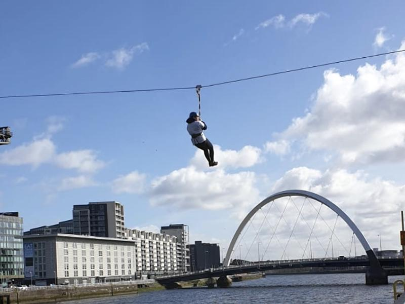 Glasgow's Golden Generation: Zip Slide the Clyde