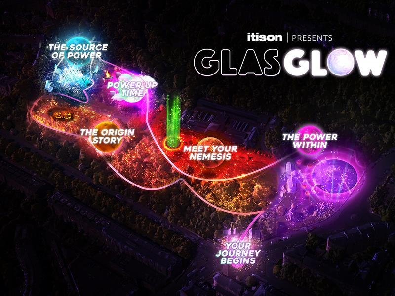 Dates announced for GlasGLOW, returning to light up the city this October!