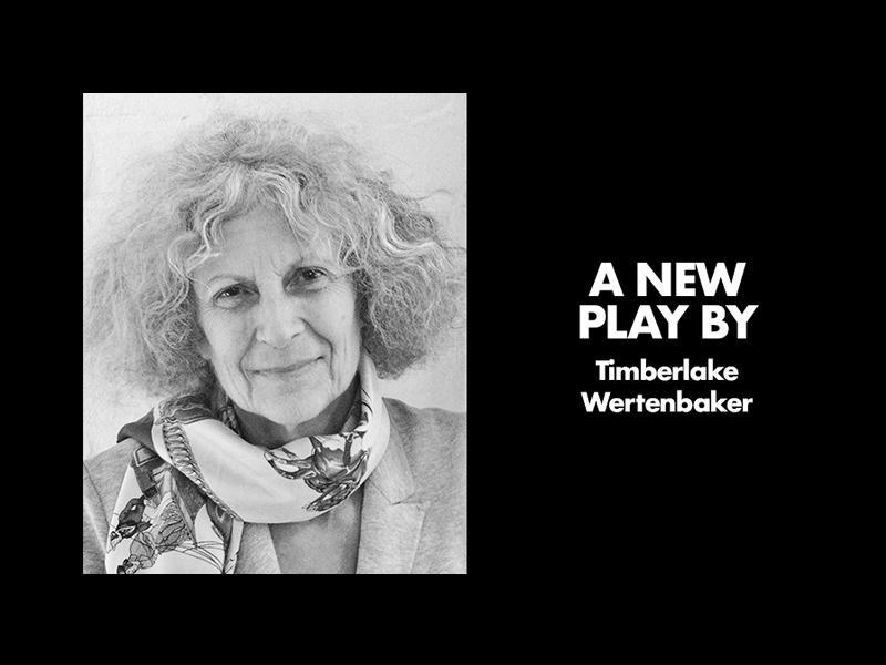A new play by Timberlake Wertenbaker