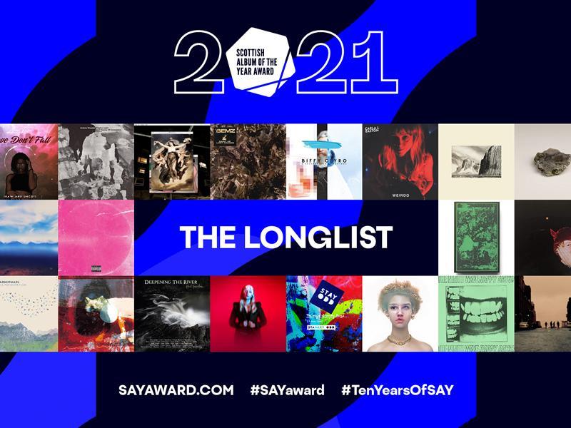 Scottish Album of the Year Award announced Longlist