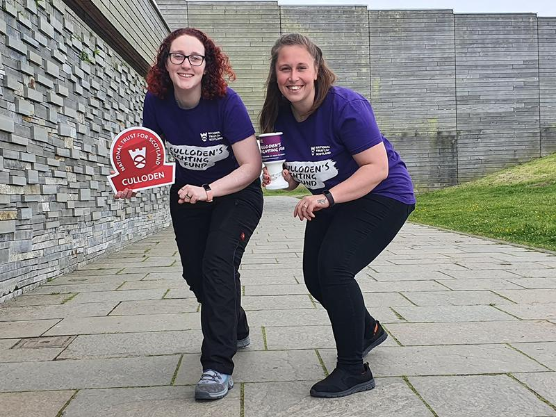 National Trust for Scotland: Step it up for Culloden challenge