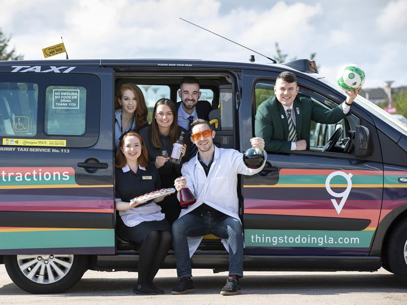 GLA launches branded taxis!