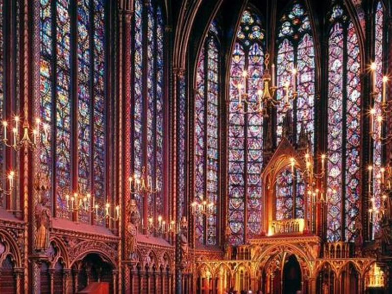Virtual Tour of the Sainte Chapelle