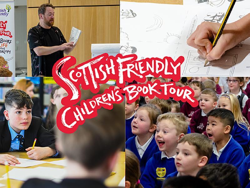 Scottish Friendly Childrens Book Tour Summer Competition