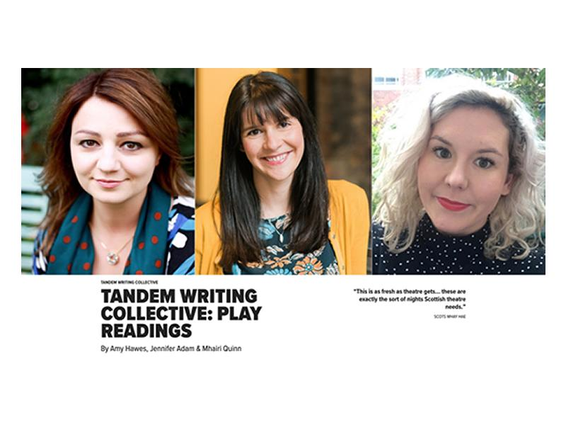 Tandem Writing Collective: Play Readings