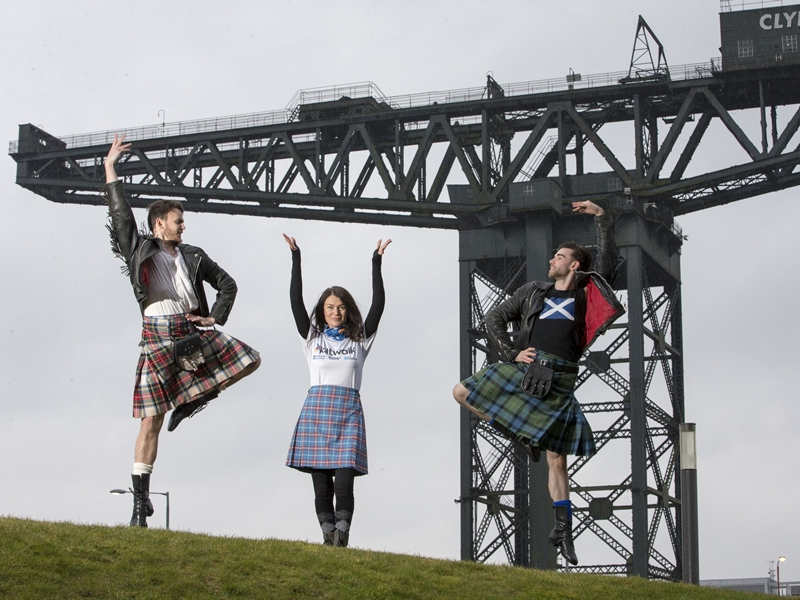 Scottish Ballet backs the Kiltwalk